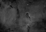 Elephants Trunk Nebula IC 1396 in 3nm H-Alpha